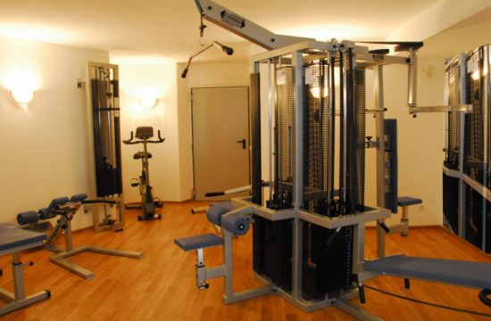 Sala fitness dell'Hotel Bergblick