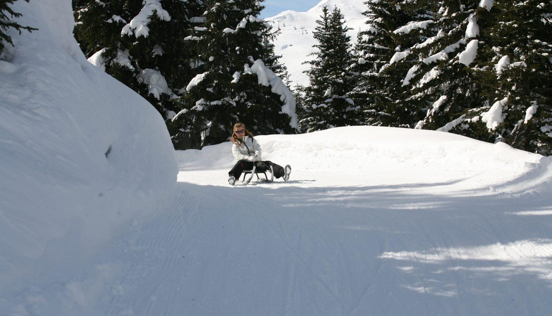 Rodeln in Südtirol