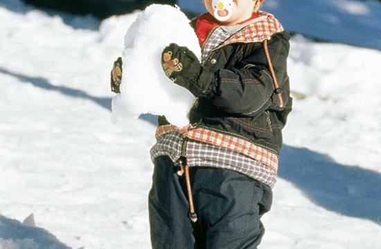 Avventura invernale anche per i bambini