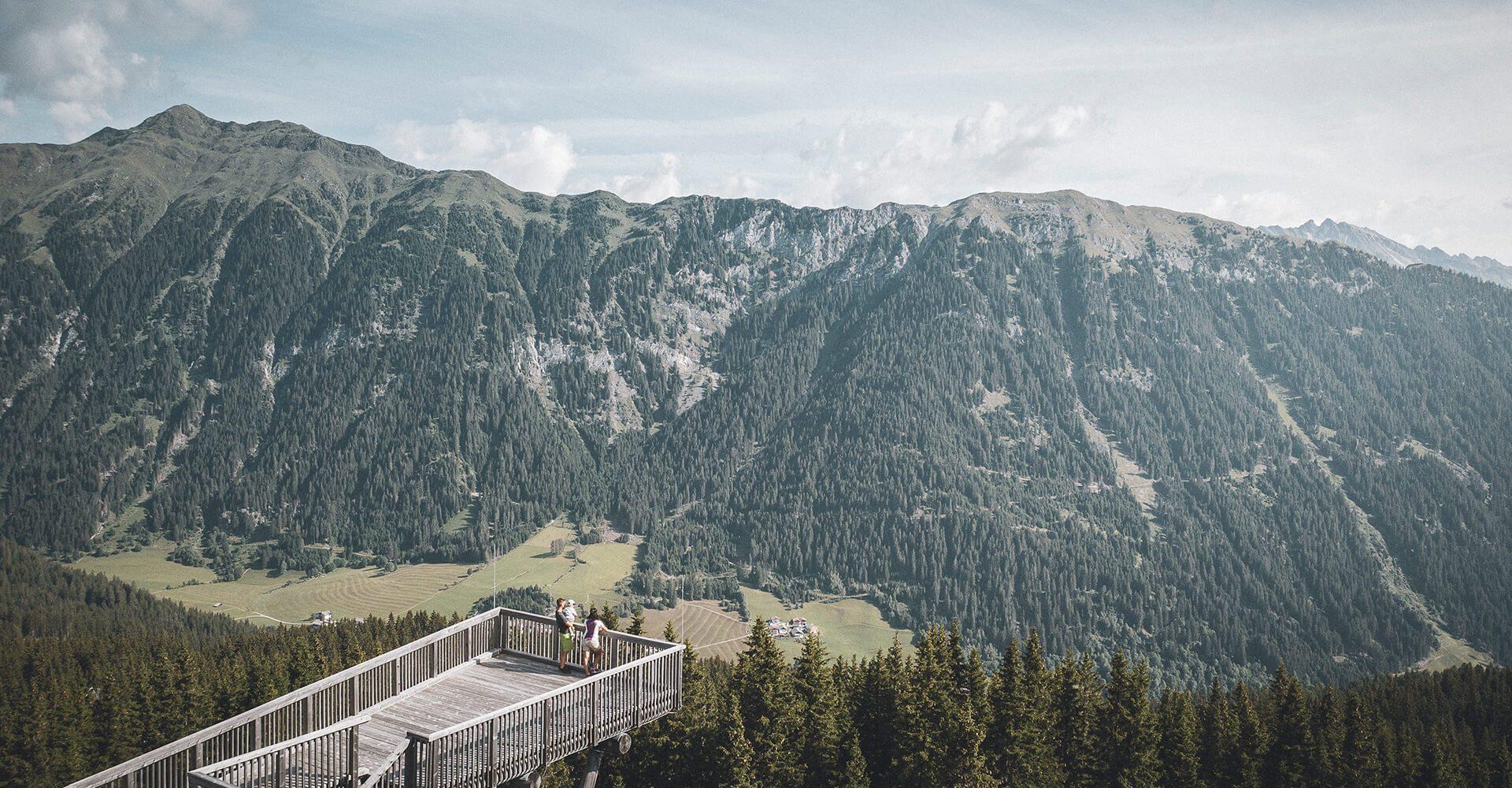 Aussicht auf das Panorama