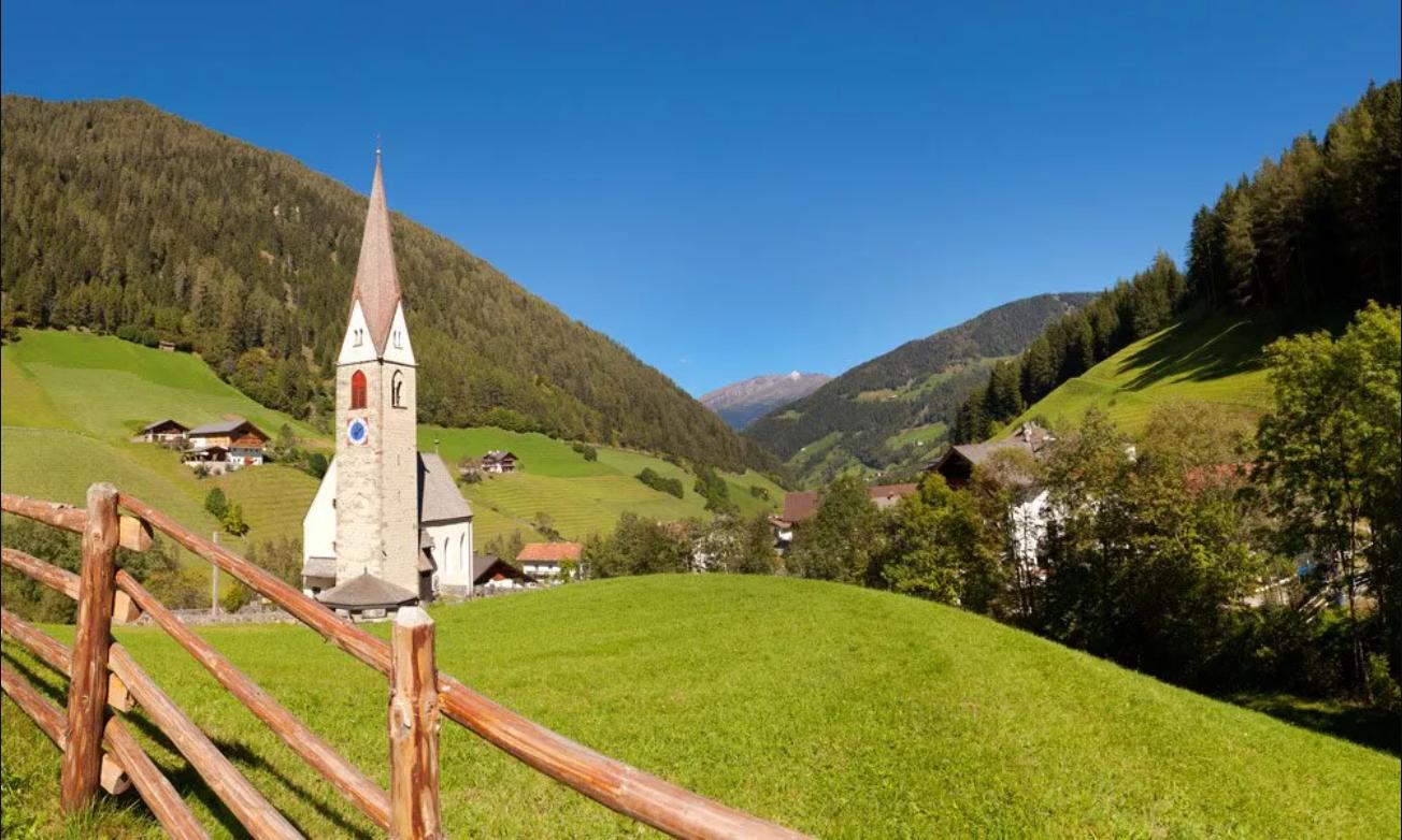 Bergblick im schönen Ratschingstal
