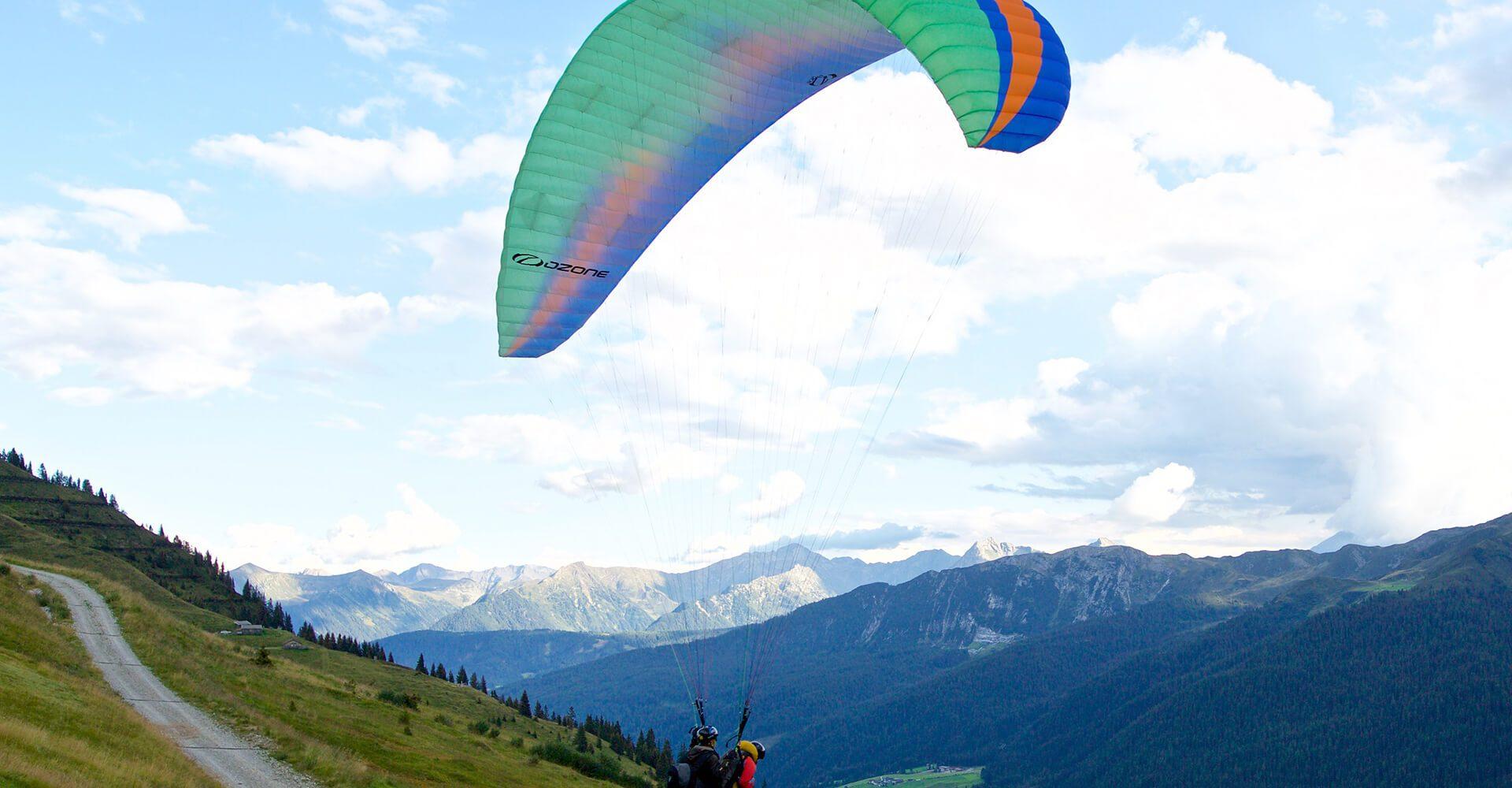 Paragliding im Eisacktal